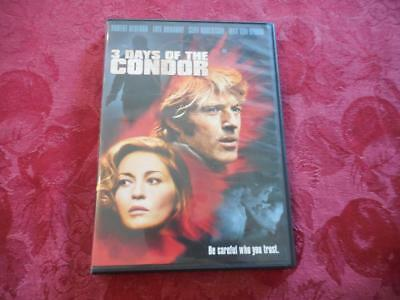 3 Days of The Condor - DVD - LIKE NEW - Region 1 - English Language