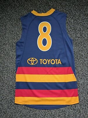 Nathan Bassett Match Worn Player Issue Adelaide Crows Guernsey Jumper Adidas COA