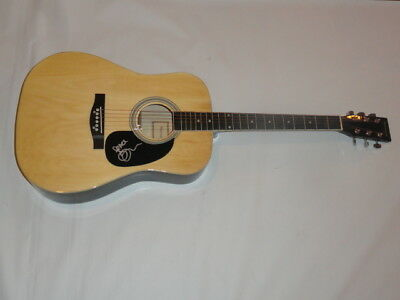 Tim Reynolds Signed Full-Size Natural Acoustic Guitar Dave Matthews Band Proof