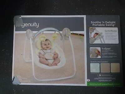 Soothe 'N Delight Portable Swing