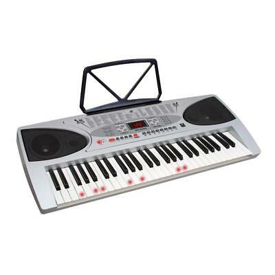 New Beginners Keyboard Piano 54 Key Built In Learning Mode * Free P&p Uk Offer *