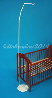 BABY COT/cot bed /CRIB  CANOPY STAND/HOLDER -FREE STANDING  rod ,pole,holder L