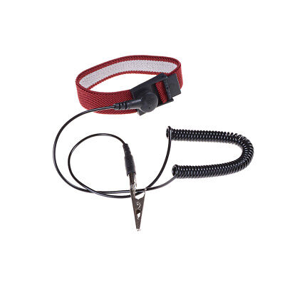Hot Anti Static ESD Adjustable Wrist Strap electronic Discharge Band Ground 7Q
