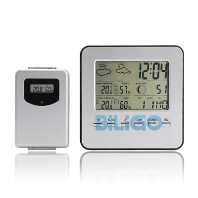 Wireless LCD Digital Indoor/Outdoor Home Temperature Humidity Meter Thermometer