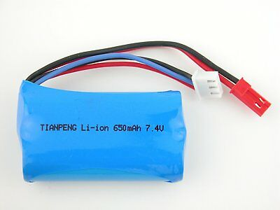 1pcs 7.4V Li-ion Battery for Double Horse 9100 RC Helicopter Replacement Part US