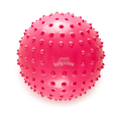 BabyToLove Balle Tactile Fluo Collection Rose