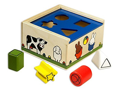 Miffy Carrousel De Formes Bois Miffy Multicoloured