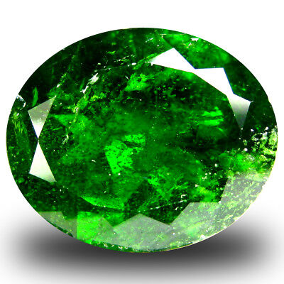 10.12 ct  Lovely Oval Shape (16 x 13 mm) Green Chrome Diopside Natural Gemstone