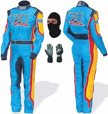 Go Kart Race Suit with Free Gifts