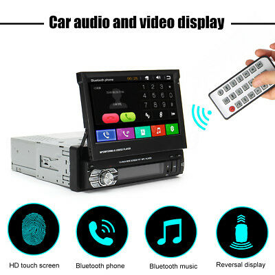 7'' HD Car MP5/FM Touch Screen Bluetooth DVD Player GPS Receiver Stereo Radio