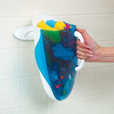 Munchkin Bath Toy Scoop Storage Organiser Child Play Caddy Wall Attachment