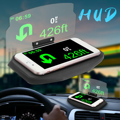 auto hud head up display navigation projektor gps handy. Black Bedroom Furniture Sets. Home Design Ideas