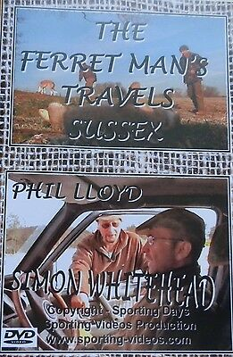 THE FERRET MAN'S TRAVELS - SUSSEX - DVD rabbits,nets,lurchers