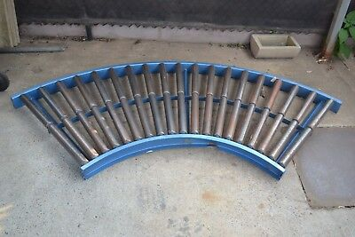 Large Curved Roller Section Conveyor - 2280mm from Side to Side | Sydney