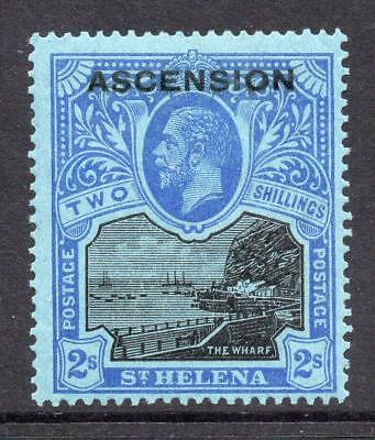 Ascension 2/- Stamp c1922 Mounted Mint SG7 (Cat £110)
