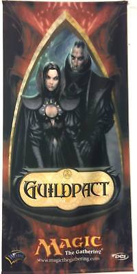 "MAGIC MTG ""guildpact"" ORIGINAL WALL BANNER WIZARD EXCELLENT CONDITIONS USED"