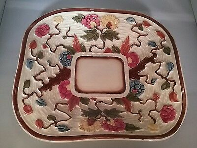 Vintage H J Wood Indian Tree hand painted bowl dish