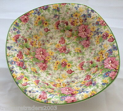 🌟  Stunning Midwinter Floral Chintz Large Fruit Dessert Serving  Dish  England