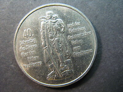 Germany, Democratic Republic, 10 Mark 1985A Coin, Nice,