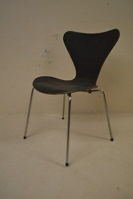 Stunning Vintage Danish Arne Jacobsen Fritz Hansen Plywood Chair