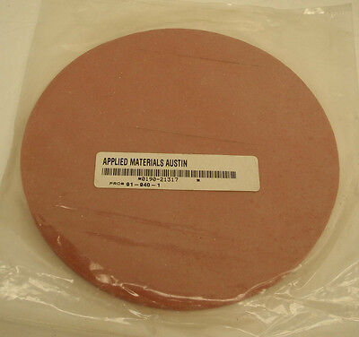 "Applied Materials 0190-21317 Texturing fixture 8"" Backing Pad AMAT"