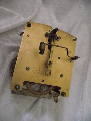 VINTAGE SMITHS ENFIELD CLOCK MOVEMENT for spares and repairs