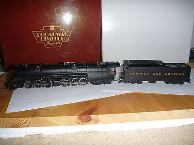 Broadway Limited Imports HO 2-6-6-4 N&W; DC/DCC & Sound, No. 1218