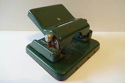 Alter Locher Leitz No. 18 punch perforator vintage