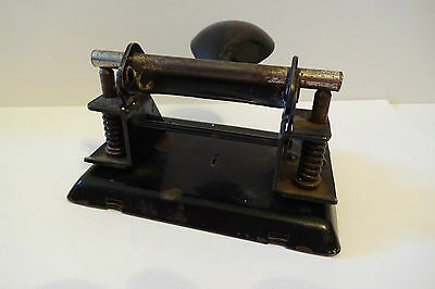 Alter Locher Leitz No. 8 punch perforator vintage