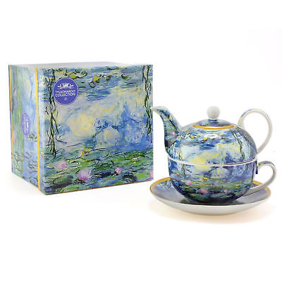 Lesser & Pavey Water LilliesTea For One, Blue