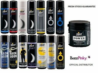 Genuine Pjur Personal Lubricants - Official Distributor (Fresh Stock)