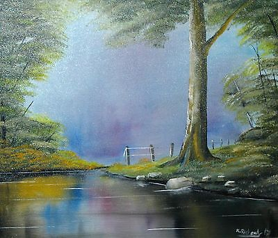 "Original Oil Painting on canvas 24""x20""from the artist Kevin Richards"