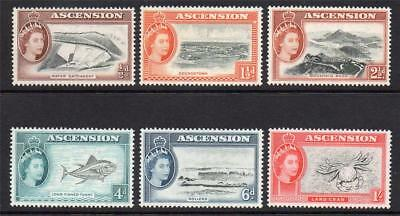 Ascension Part Set of Stamps c1956 Unmounted Mint