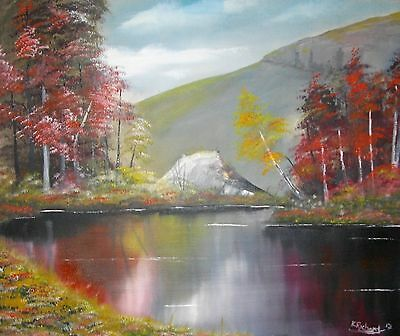 """Original landscape Oil Painting on canvas 24""""x20"""" from the artist Kevin Richards"""
