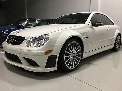 2008 Mercedes-Benz CLK-Class Black Series 2008 CLK63 AMG Black Series in WHITE; Stunning and 14k miles!!