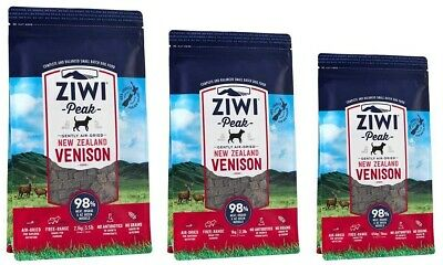 Ziwi Peak Air-Dried Venison Food For Dogs single protein allergies real meat