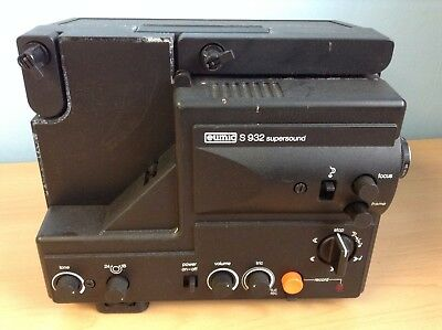 Eumig S 932 Supersound Super 8mm Sound Projector - SPARES REPAIRS