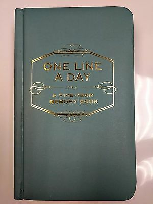 One Line A Day 5-year Memory Book for Baby/Child