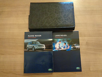 Range Rover Owners Handbook/Manual and Wallet 05-06