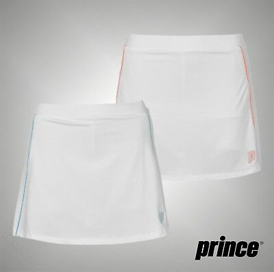 Ladies Branded Prince Lightweight Shorts Style Lined Tech Tennis Skort Size 8-16