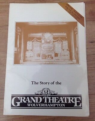 THE STORY OF THE GRAND THEATRE WOLVERHAMPTON - reopening souvenir
