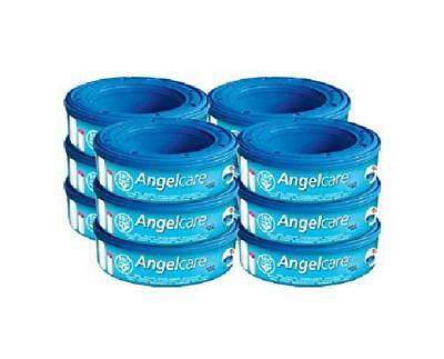 Angelcare Refill Cassettes - Pack of 12, Provides Effective Odour-Barrier