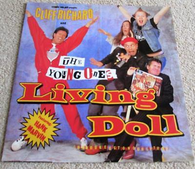 "Cliff Richard And The Young Ones - ""living Doll"" Uk 12"" Vinyl Single Yz65T"