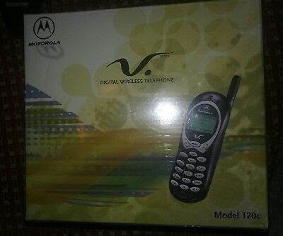 Motorola model 120c DIGITAL WIRELESS TELEPHONE Brand New Factory sealed package