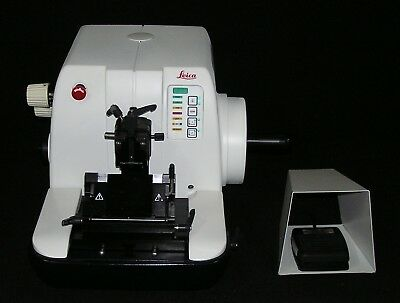 Leica Rm2155 Motorized Microtome - Fully Reconditioned
