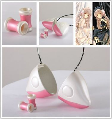 Anime Chobits Elda Chii's Ears & Hair Beads Band Cosplay Prop Girl Accessory Cos