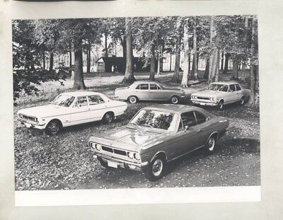 1971 GM Belgium Ranger ORIGINAL Factory Photograph wy5632