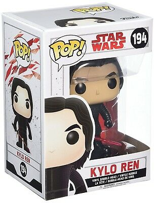 Funko - POP Star Wars: Star Wars The Last Jedi - Kylo Ren (Unmasked) New In Box