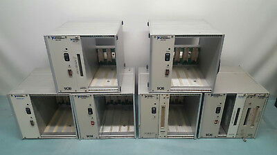 Lot 6X National Instruments Scxi-1000 Scxi-Ms1000 4-Slot Mainframe Chassis