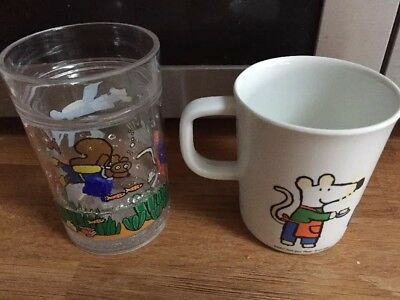 Maisy Mouse Melamine Cup And Glass